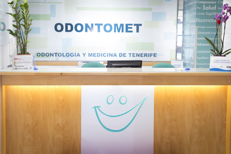 Clínica Dental en Santa Cruz de Tenerife - Recepción