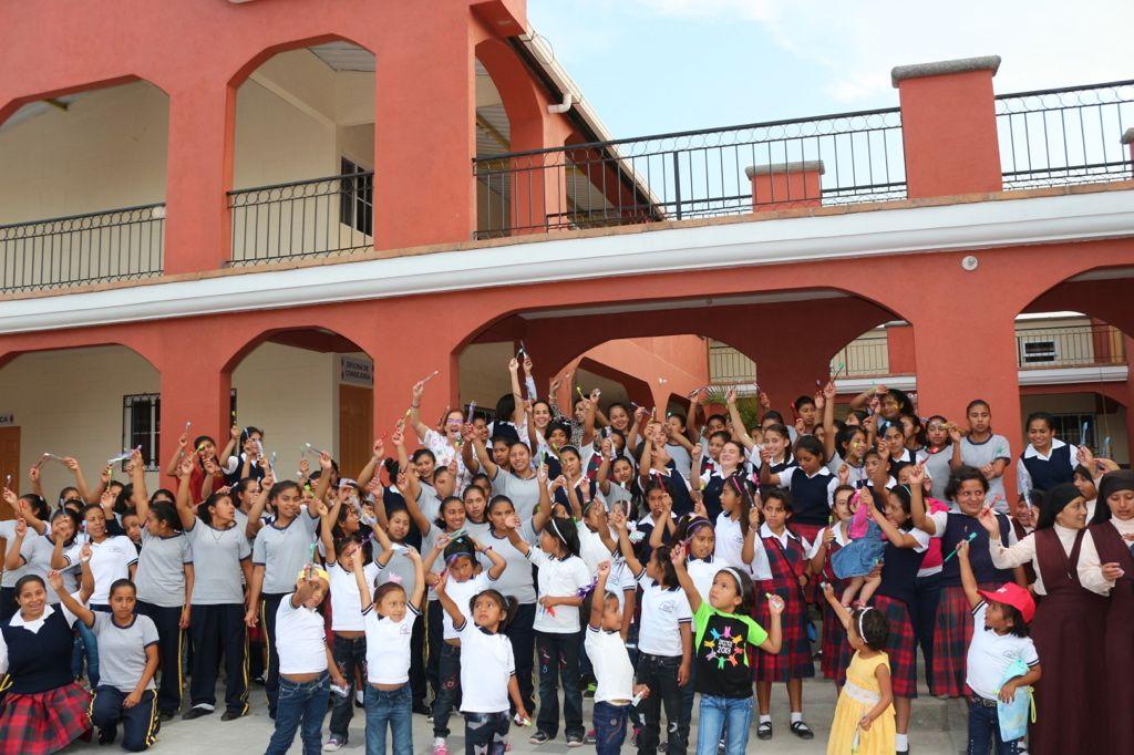 Centro de niñas desfavorecidas en Guatemala