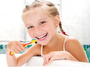 Higiene oral odontopediatria en Tenerife